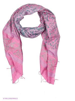 Платок MICHEL KATANA`. Цвет: красный, розовый, серый