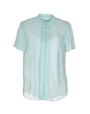 Pубашка ANONYME DESIGNERS. Цвет: бирюзовый