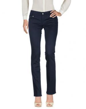 Повседневные брюки ROCCOBAROCCO. Цвет: темно-синий