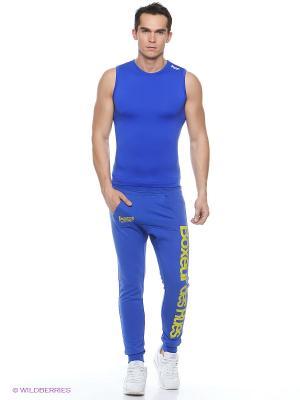 Брюки спортивные Boxeur Des Rues. Цвет: синий