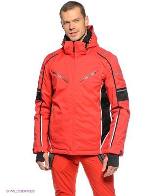 Куртка Maier. Цвет: красный