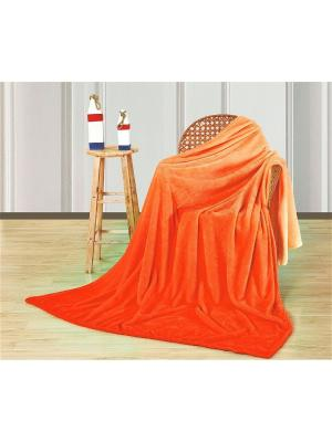 Покрывало Доменико Манетти Павлина. Цвет: оранжевый