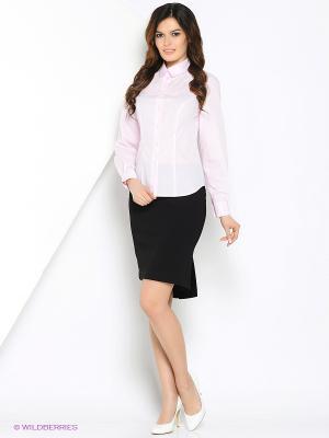 Блузка MARY MEA. Цвет: бледно-розовый