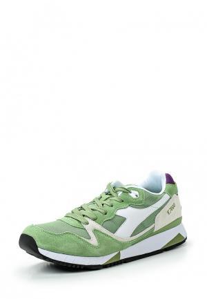 Кроссовки Diadora. Цвет: зеленый