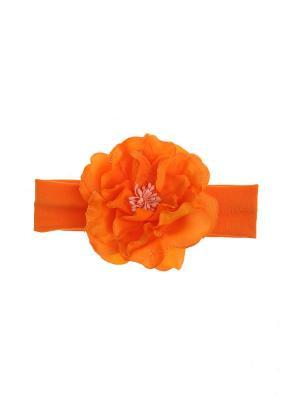 Повязка на голову Olere. Цвет: оранжевый