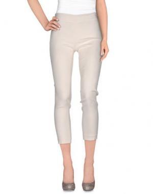 Повседневные брюки JO NO FUI. Цвет: слоновая кость