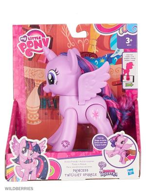 Пони-модницы Hasbro. Цвет: лиловый, прозрачный