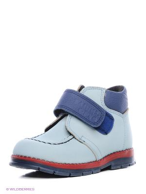 Ботинки ТАШИ ОРТО. Цвет: голубой