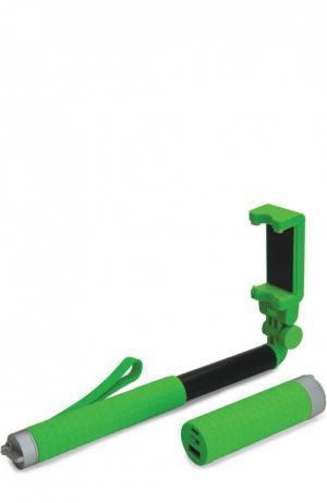 Монопод со съемным аккумулятором на 2800 mAh Yell. Цвет: зеленый