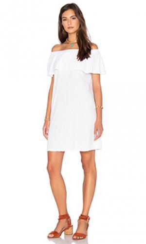 Платье ithaca Velvet by Graham & Spencer. Цвет: белый