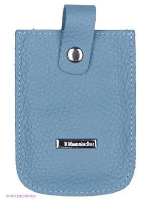 Футляр для дисконтных/банковских карт Dimanche. Цвет: голубой