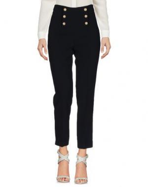 Повседневные брюки EDWARD ACHOUR. Цвет: темно-синий