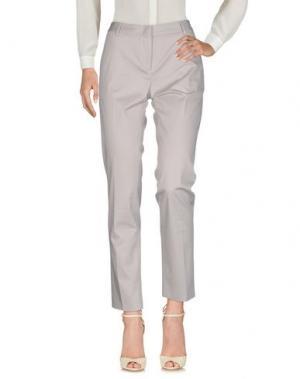 Повседневные брюки TONELLO. Цвет: серый