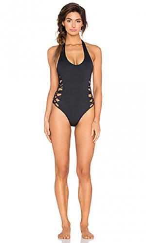 Купальник camilla Frankies Bikinis. Цвет: черный