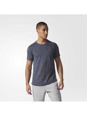 Футболка спортивная муж. AARC SS TEE M Adidas. Цвет: серый