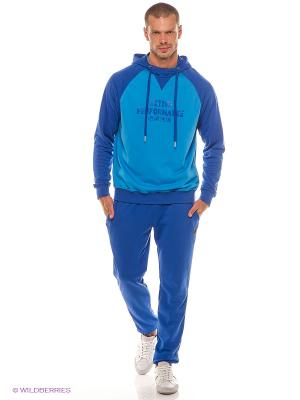 Спортивный костюм RED-N-ROCK'S. Цвет: голубой, синий