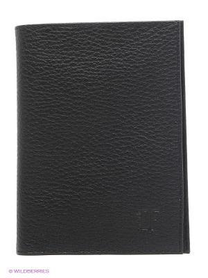 Бумажник Dimanche. Цвет: черный