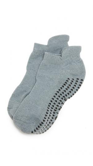 Носки Union Cushioned Grip Pointe Studio. Цвет: серый меланж