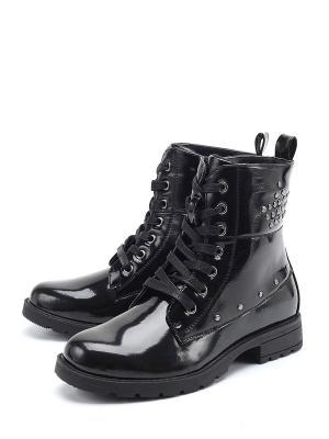 Ботинки Сказка. Цвет: черный