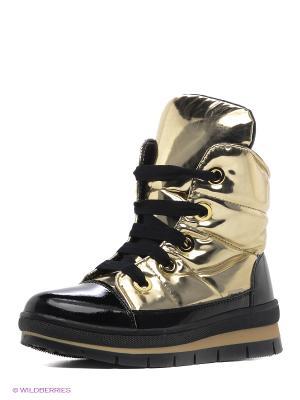 Ботинки Jog Dog. Цвет: золотистый