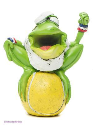 Фигурка-лягушка Теннисист Твик The Comical World of Stratford. Цвет: зеленый, желтый