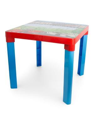 Стол детский Форсаж(красный) Альтернатива. Цвет: синий, красный