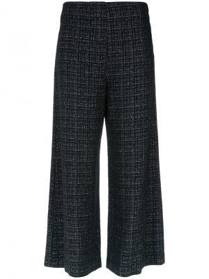 Wide leg cropped trousers Nk. Цвет: чёрный