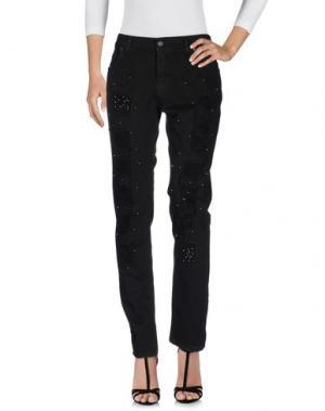 Джинсовые брюки SWEET LOLA. Цвет: черный