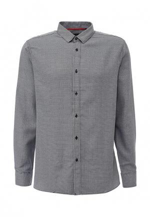 Рубашка Top Secret. Цвет: черно-белый