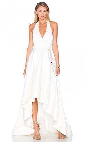 Вечернее платье moni Bronx and Banco. Цвет: ivory