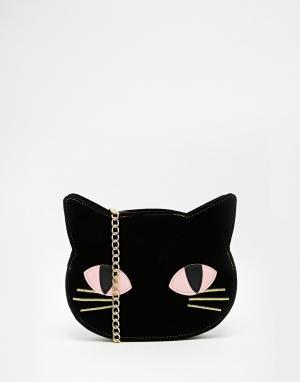 Skinnydip Сумка через плечо Cat. Цвет: черный