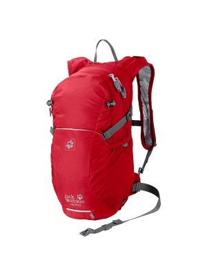 Рюкзак HAM ROCK 16 Jack Wolfskin. Цвет: красный