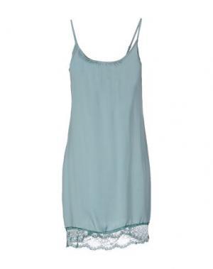 Короткое платье JEI O'. Цвет: небесно-голубой
