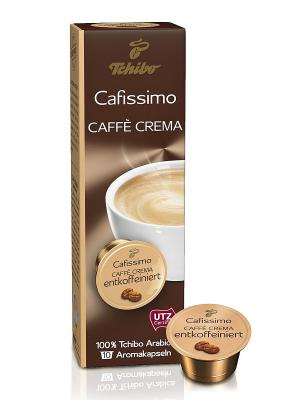 Кофе в капсулах Caffe Crema Entkoffeiniert TCHIBO. Цвет: коричневый