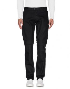 Джинсовые брюки JOHN VARVATOS. Цвет: черный