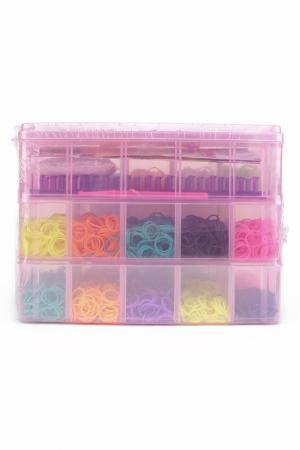 Наборы для плетения браслетов LOOM TWISTER. Цвет: голубой, желтый, синий