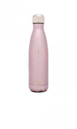 Бутылка для воды glitter 17oz Swell S'well. Цвет: розовый