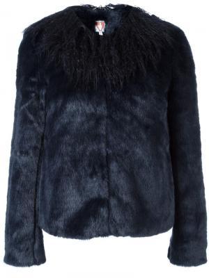 Укороченная куртка Fifi Shrimps. Цвет: синий