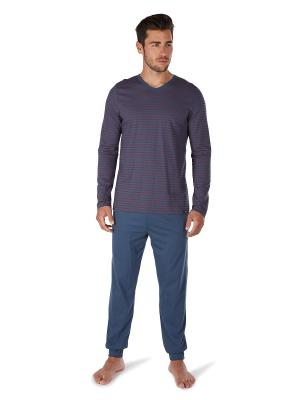 Пижама Skiny. Цвет: синий