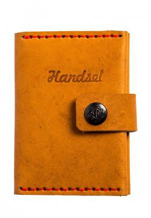 Визитница Handsel. Цвет: оранжевый