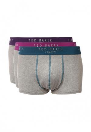 Комплект трусов 3 шт. Ted Baker London. Цвет: серый