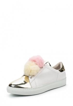 Кеды Just Couture. Цвет: белый