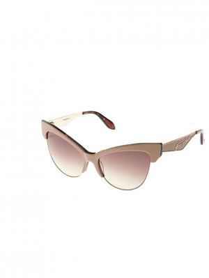 Очки солнцезащитные BLD 1709 104 Baldinini. Цвет: бежевый, коричневый