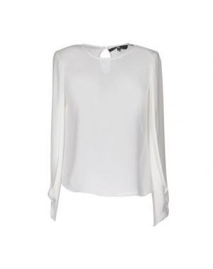 Блузка ELISABETTA FRANCHI. Цвет: белый
