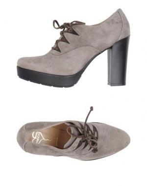 Обувь на шнурках HÉCOS. Цвет: хаки