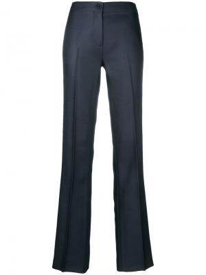 Расклешенные брюки с полосками по бокам Emilio Pucci. Цвет: синий