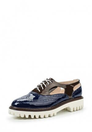 Ботинки Makfine. Цвет: синий