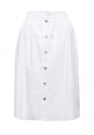 Юбка Baon. Цвет: белый