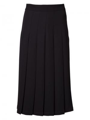 Pleated skirt Nomia. Цвет: чёрный