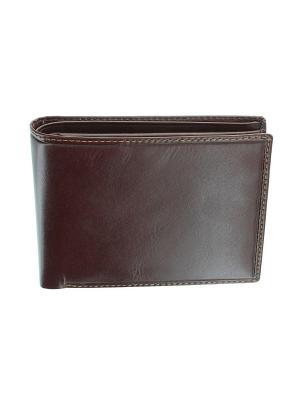 Бумажник MZ-4 Visconti. Цвет: коричневый